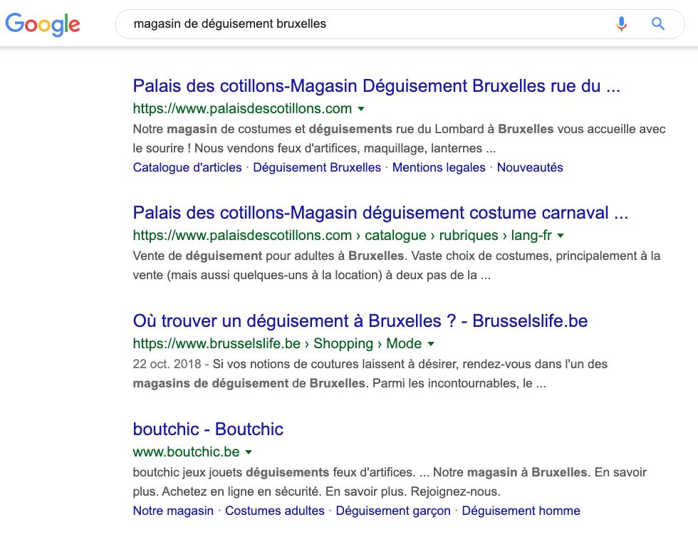 Le contenu va te permettre de te positionner sur la première page de Google, en fonction des mots clés qui t'intéressent