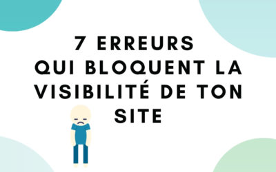7 erreurs de débutant que tu as commises quand tu as mis ton site web en ligne