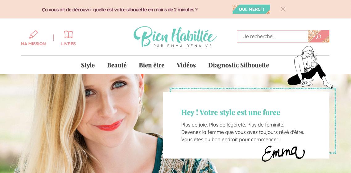 """Le bog mode """"Bien habillée"""" utilise le content marketing pour créer une communauté"""