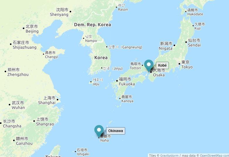 L'ikigaï provient d'une île japonaise, Okinawa